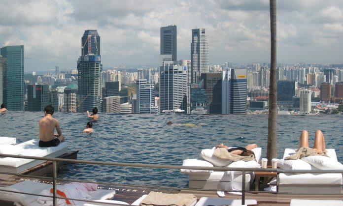 Piscina de Marina Bay Sands