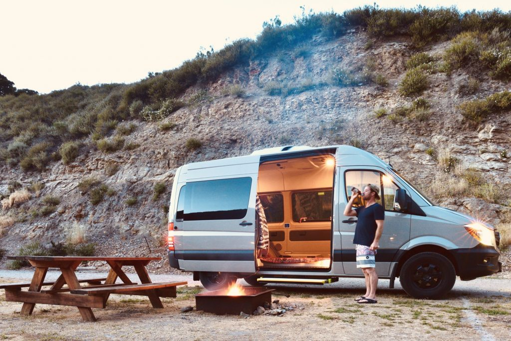 Viajar en camper