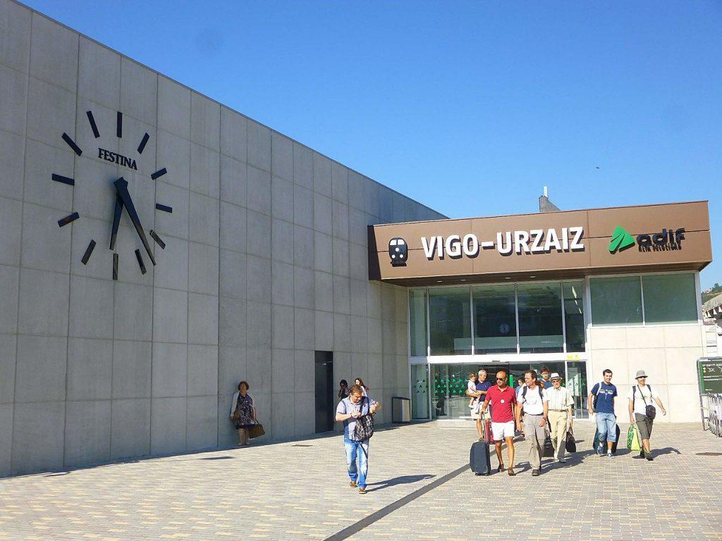 Estación de tren de Vigo