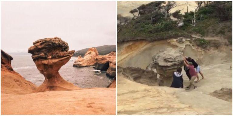 Maravillas del mundo destruidas por turistas idiotas - Descubrir