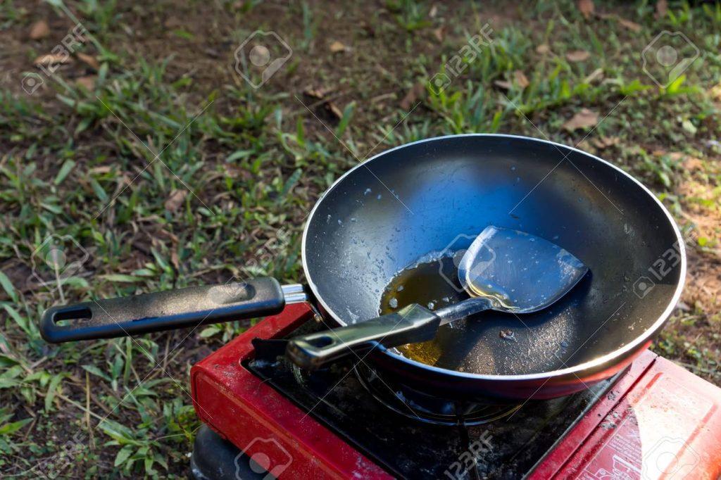 Cocina de gas portatil para camper