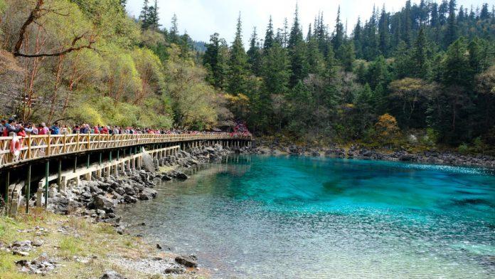 Lago de Sichuan