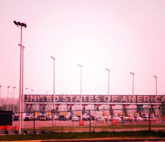 Frontera de Estados Unidos