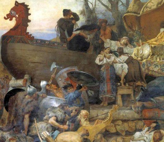 Entierro Vikingo