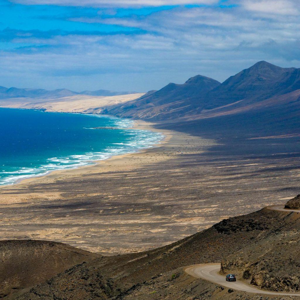 La playa de Cofete al amanecer | Cofete es una playa