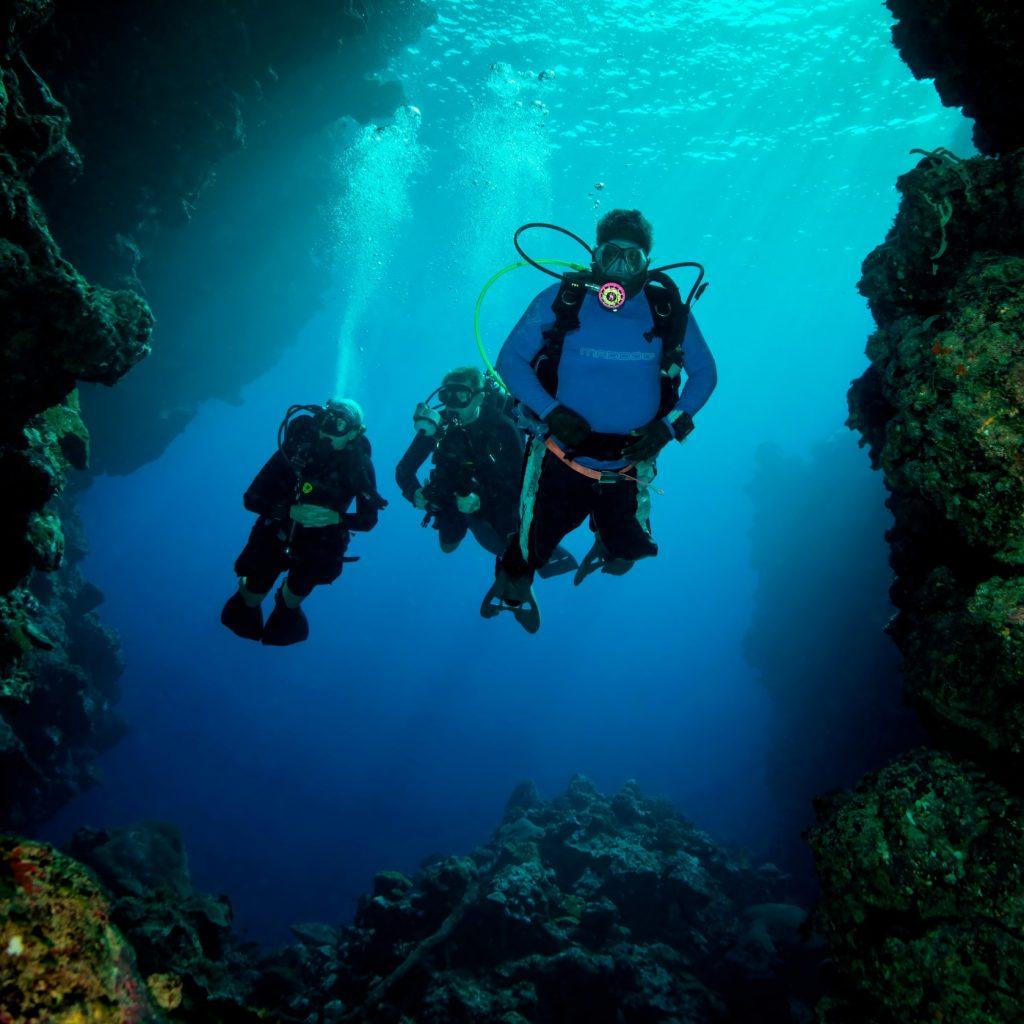 Buceando en las Islas Salomón
