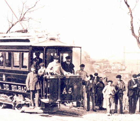 Primer tranvía eléctrico de Bilbao