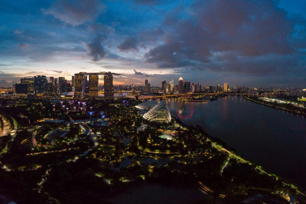 Jardines de la Bahía, un oasis verde en Singapur - Descubrir