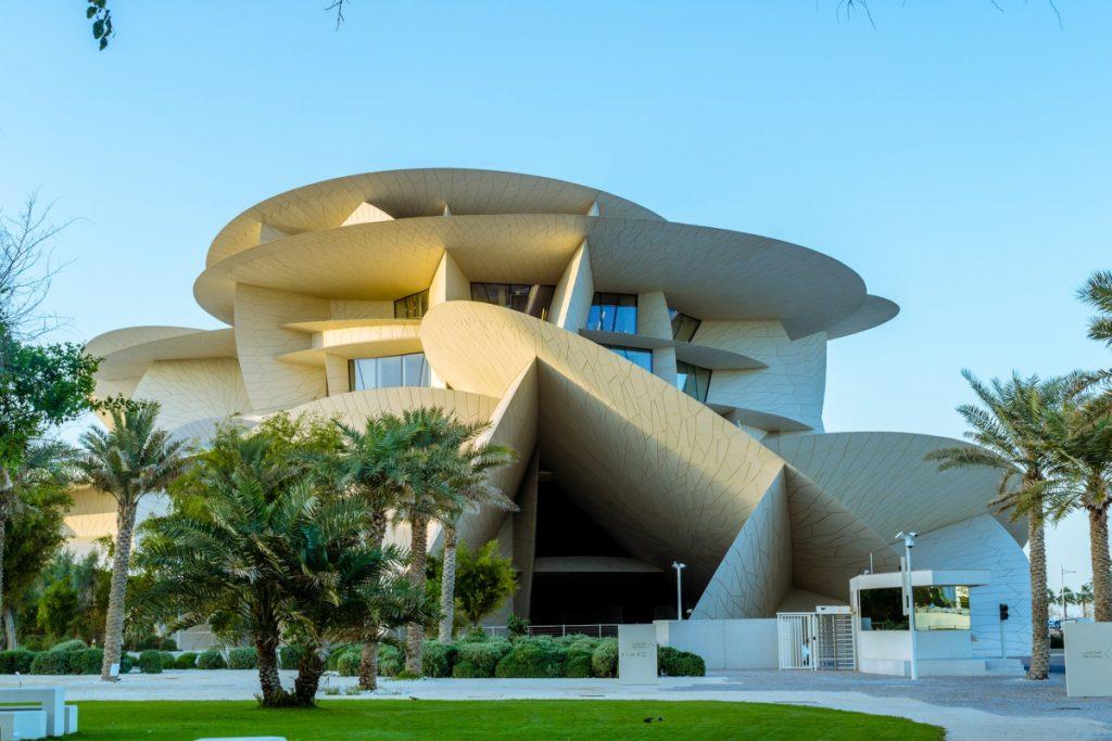 Una visita al Museo Nacional de Qatar, la rosa del desierto - Descubrir