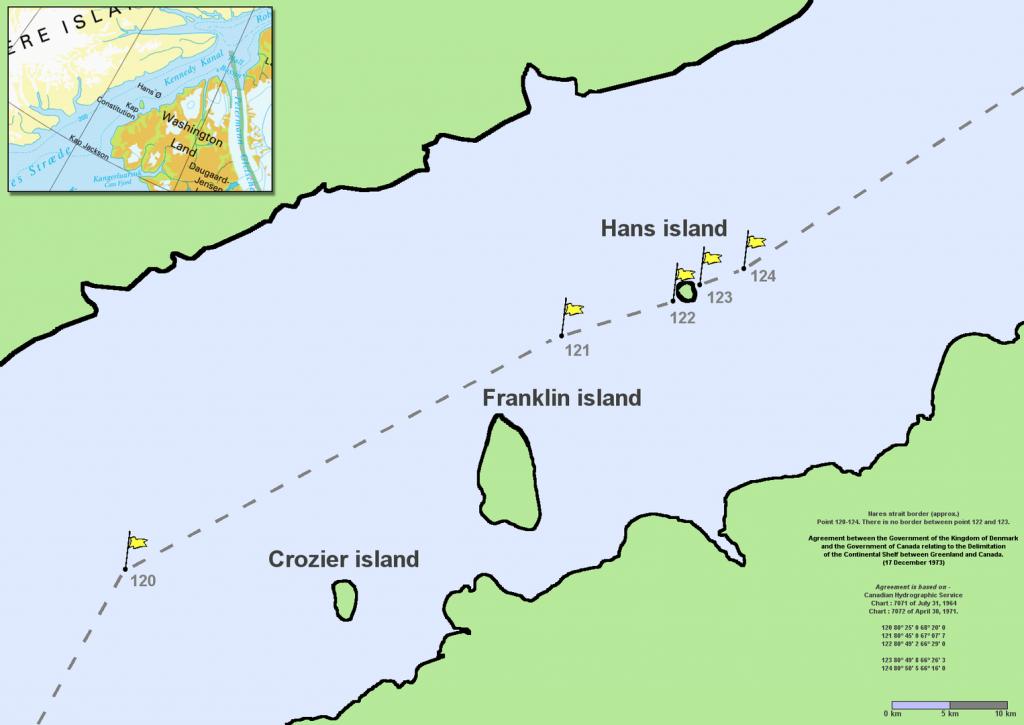 La isla de Hans y la Guerra del Whisky - Descubrir