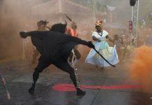 Baile de la danza Congo
