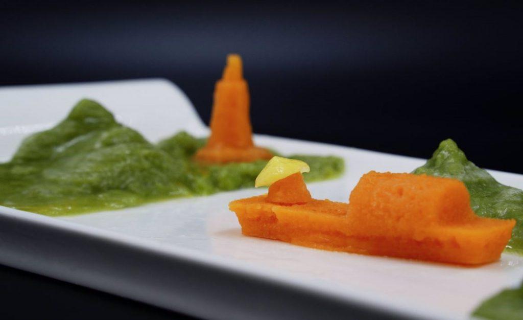 Comida impresa en 3D con puré para avanzar en la gastronomía digital - Descubrir