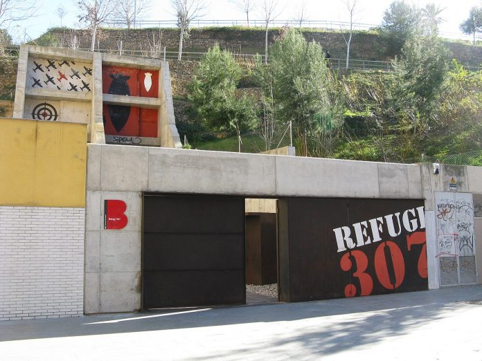 Refugio 307 de Barcelona