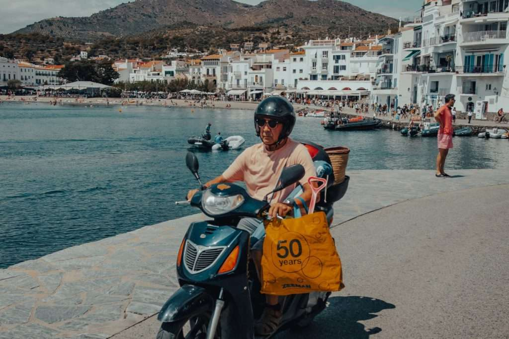 Rutas en moto cerca de Barcelona